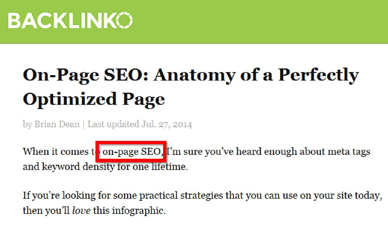 On-Page SEO: Egy tökéletesen optimalizált oldal anatómiája